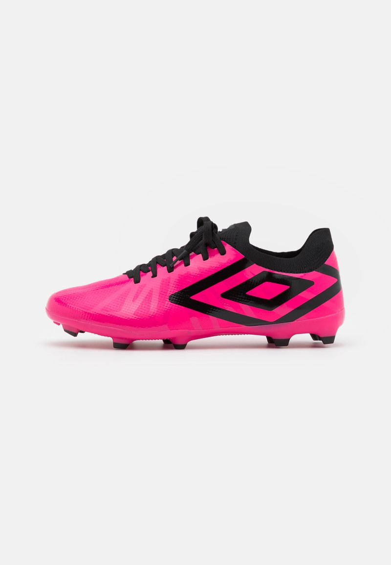 Umbro - VELOCITA VI PREMIER FG - Moulded stud football boots - pink peacock/black/white