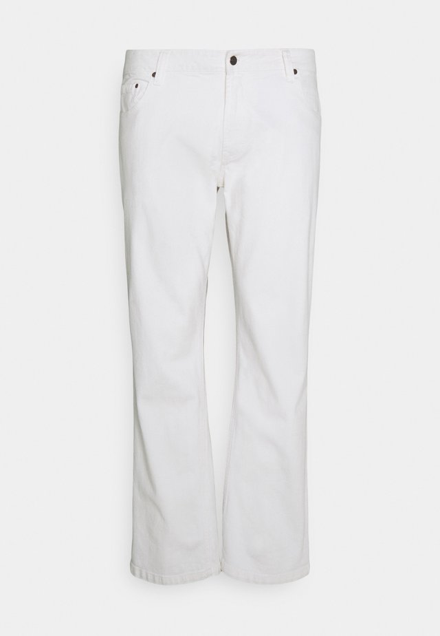 MR RED - Jeans a sigaretta - white