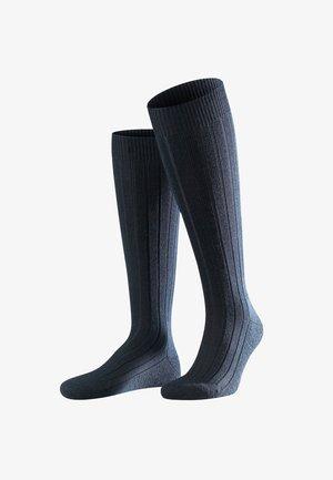TEPPICH IM SCHUH - Knee high socks - dark navy