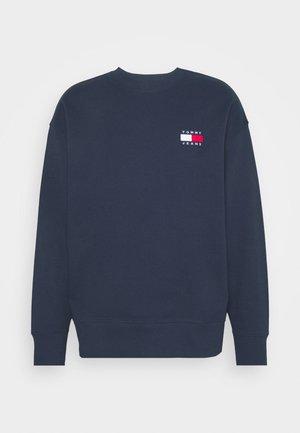 BADGE CREW UNISEX - Sweatshirt - twilight navy