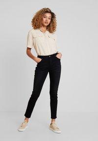 Opus - EVITA  - Jeans Slim Fit - deep black - 1