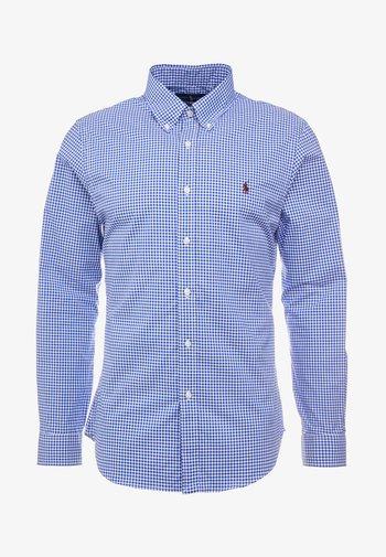 SLIM FIT - Camicia - royal/white