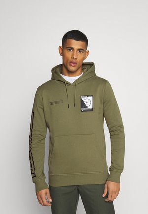 STEEP TECH LOGO HOODIE UNISEX - Bluza z kapturem - burnt olive green