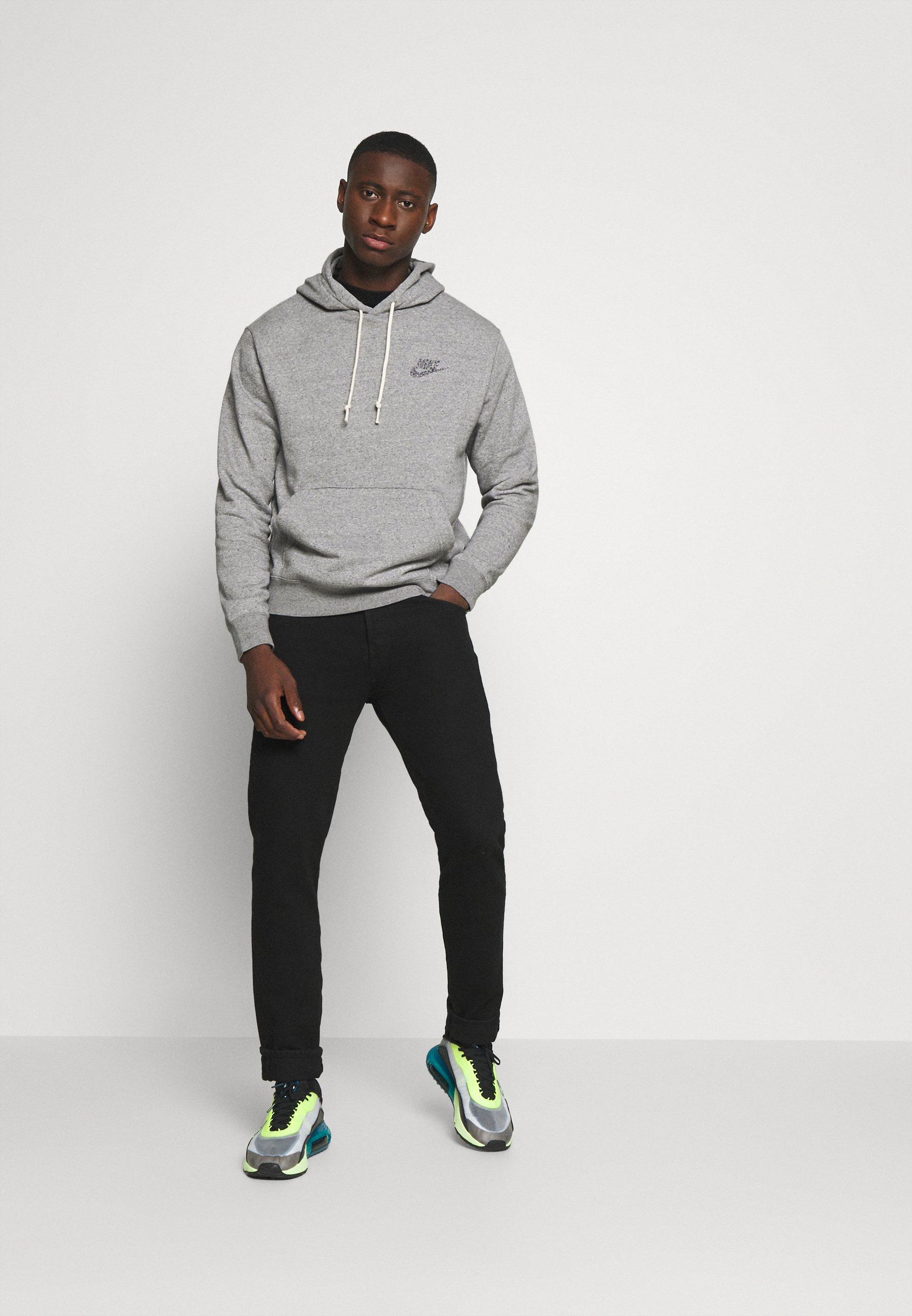 Nike Sportswear Hoodie - Multi-color/black/grå-melert