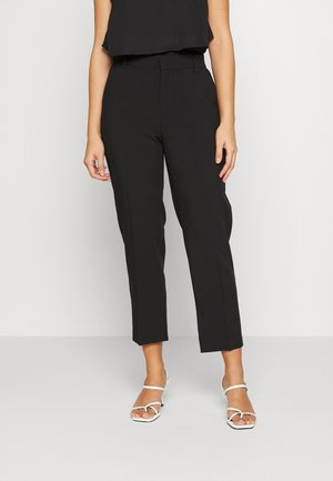 ONLALAYA YASMINE SLIT PANT  - Kalhoty - black