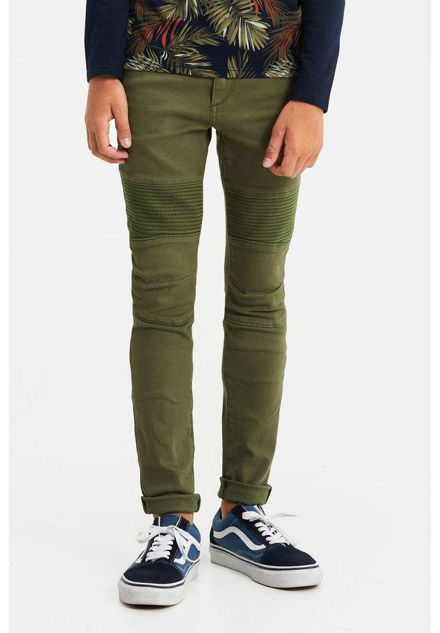 BIKER - Jeans Skinny Fit - army green