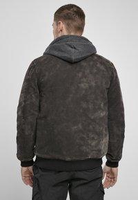 Brandit - DAYTON  - Denim jacket - black - 2