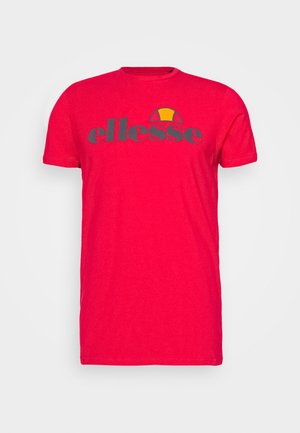 CELLA  - T-shirt con stampa - red