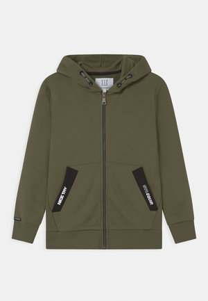 TEENAGER - Zip-up hoodie - olive
