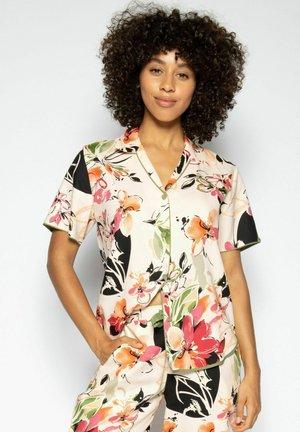 Pyjama top - peach floral