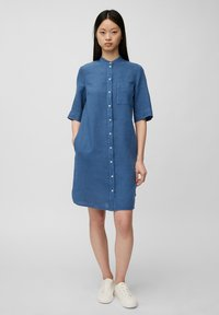Marc O'Polo - Shirt dress - lake blue - 1