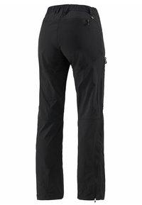 Haglöfs - MID FLEX PANT - Friluftsbyxor - true black solid short - 1