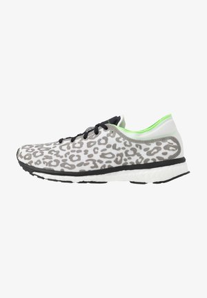 ADIZERO ADIOS PRINT SPORT RUNNING SHOES - Zapatillas de running neutras - core black/solar green/cream white