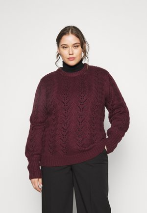 KCSOLE PULLOVER - Jumper - port royale
