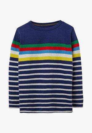 LUSTIGES BRETON - Long sleeved top - blue