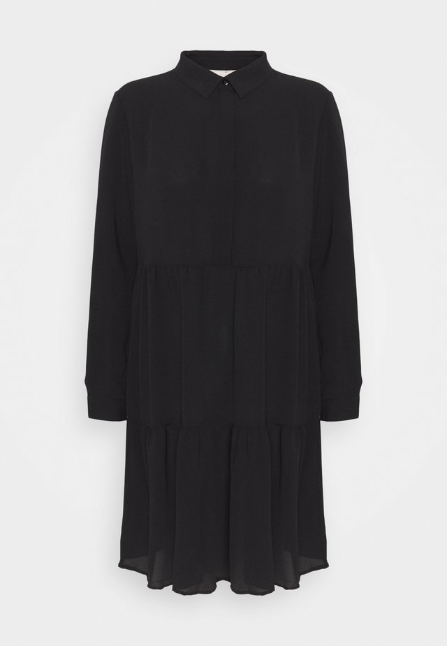 JDYPIPER DRESS - Shirt dress - black