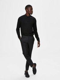 Selected Homme - PIMA - Polo shirt - black - 1