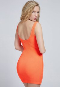 Guess - CRINKLE - Shift dress - orange - 2