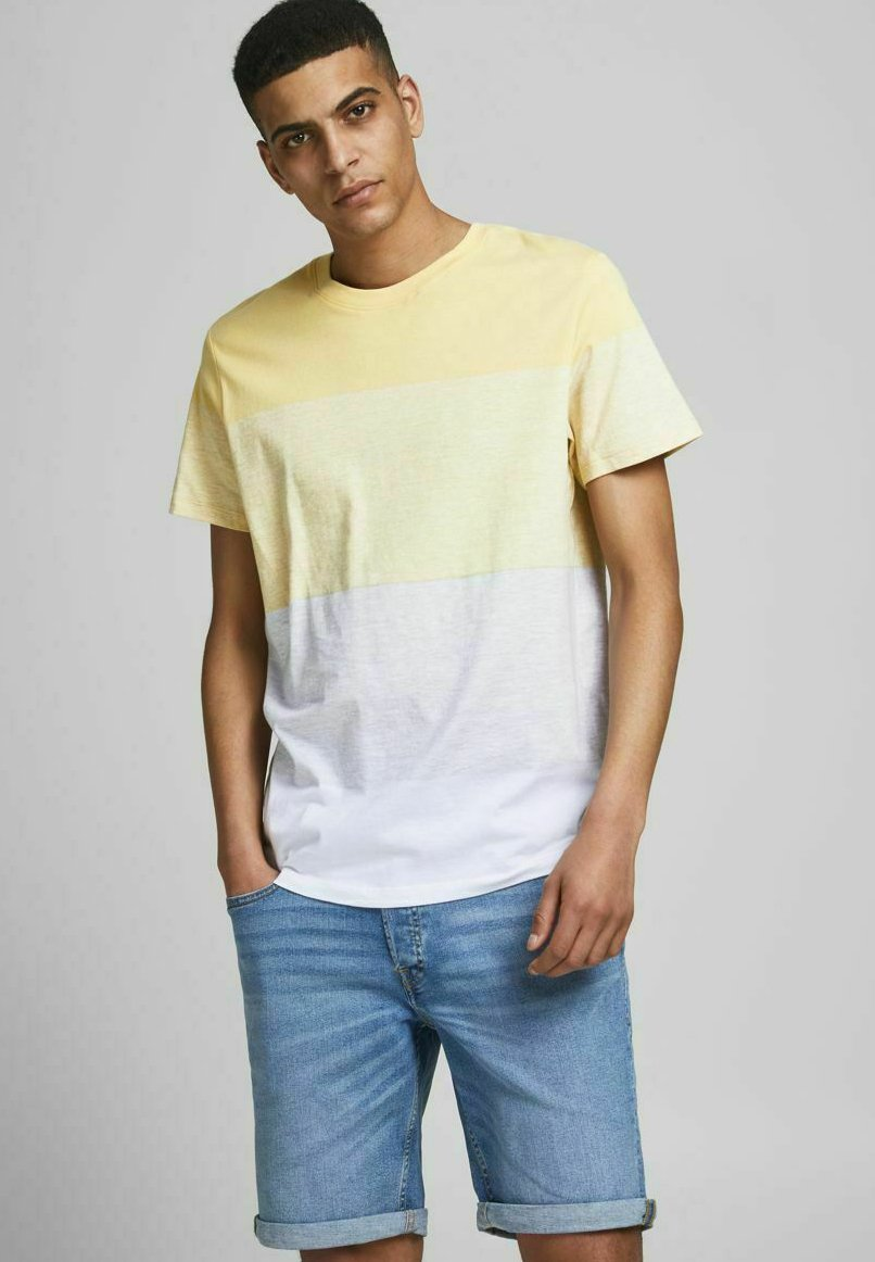 Herrer JORLAGUNA STRIPE TEE CREW NECK - T-shirts print