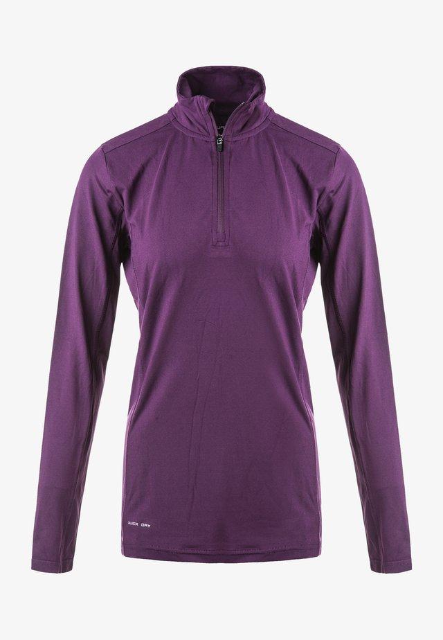 TIMIKA - Long sleeved top - deep purple