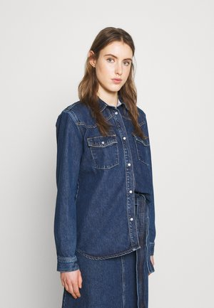 PERNILLA - Button-down blouse - rinse blue