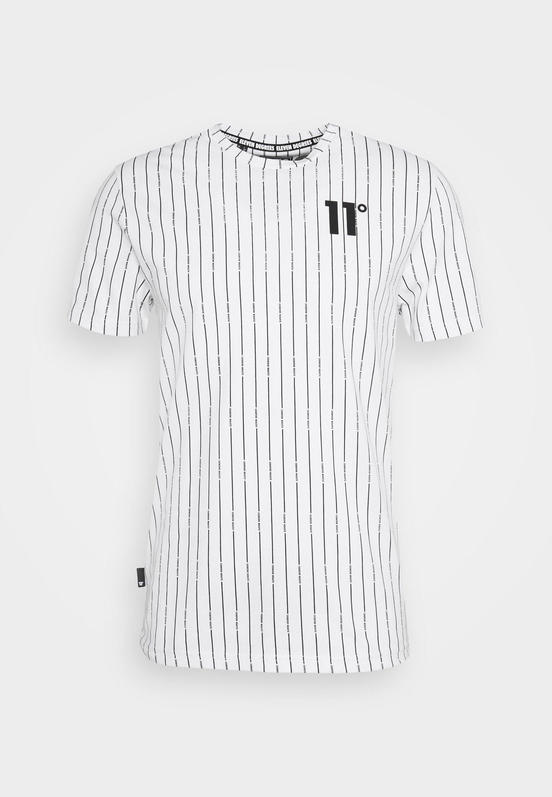 Men VERTICAL STRIPE  - Print T-shirt