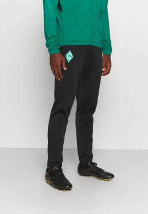 WERDER BREMEN SUIT  - Klubové oblečení - cadmium green/black