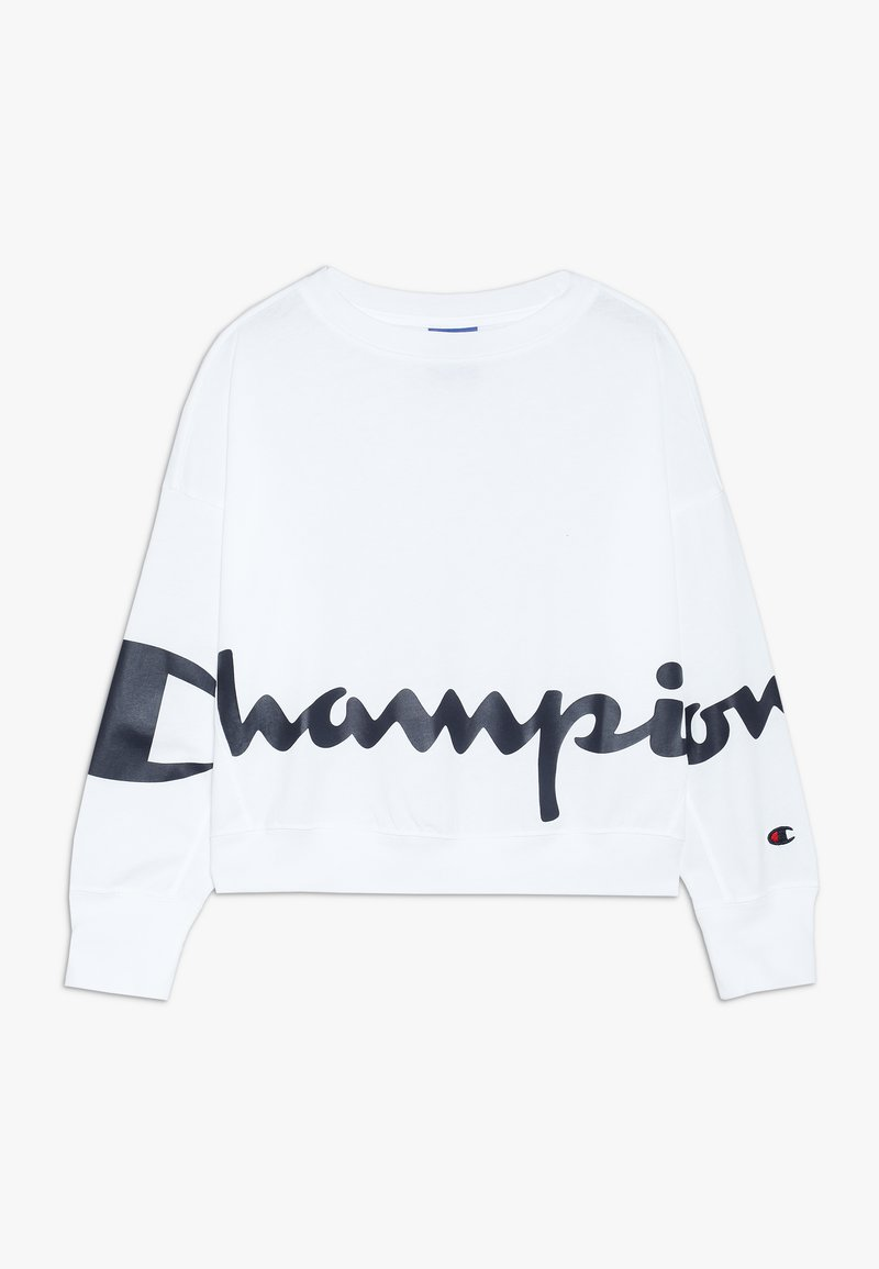 Champion - ROCHESTER LOGO CREWNECK - Long sleeved top - white