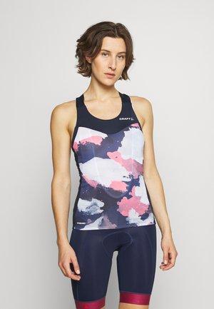 ENDUR SINGLET - Sports shirt - blaze/coral