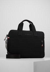 Tommy Hilfiger - ESSENTIAL COMPUTER BAG - Briefcase - black - 0