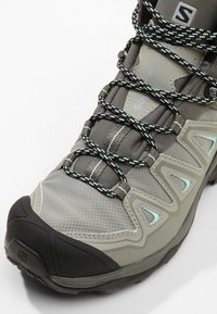 Salomon - X ULTRA 3 MID GTX  - Outdoorschoenen - shadow/castor gray/beach glass - 5