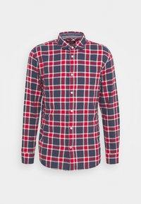JJEWILL CHECK SHIRT  - Shirt - navy