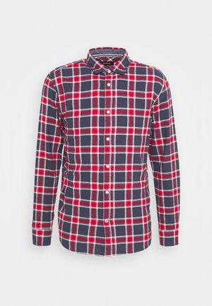JJEWILL CHECK SHIRT  - Camicia - navy