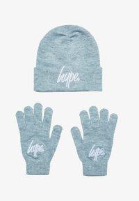 Hype - SET - Gloves - grey marl - 0