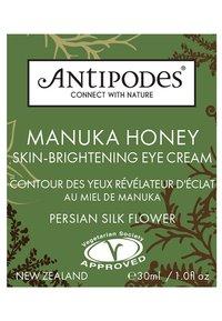 Antipodes - MANUKA HONEY SKIN BRIGHTENING EYE CREAM  - Soin des yeux - - - 1
