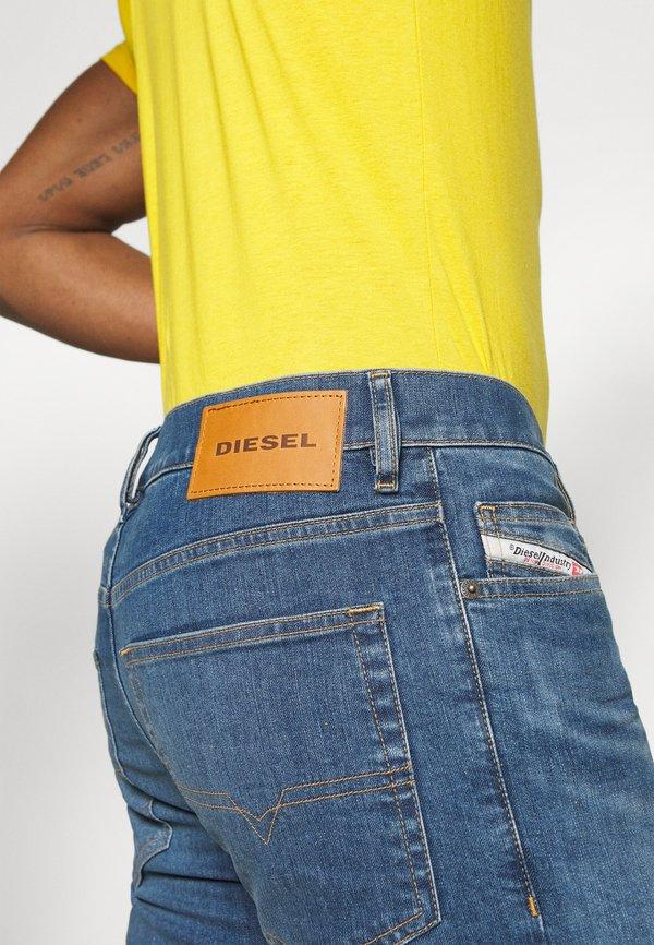 Diesel D-LUSTER - Jeansy Slim Fit - medium blue/niebieski denim Odzież Męska EVHX