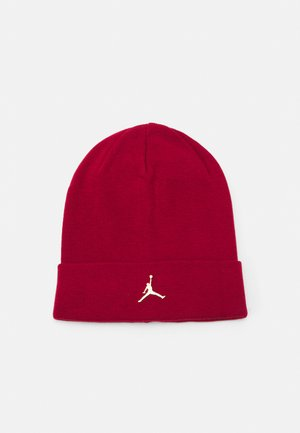 CUFFED BEANIE - Bonnet - gym red/gold-coloured