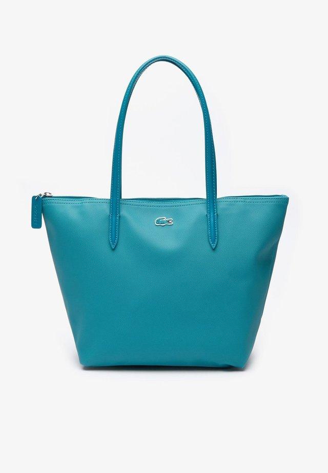 NF2037PO - Shopping bag - green blue slate