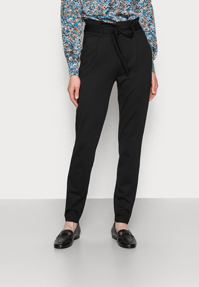 ONLPOPTRASH LIFE EASY  PAPERBAG - Pantalon classique - black