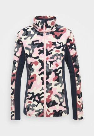 STJERNE - Fleece jacket - pearl