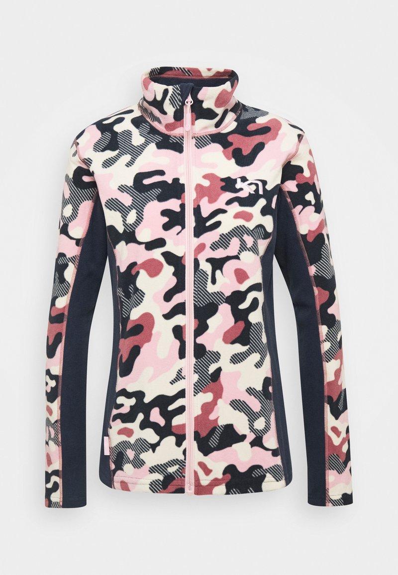 Kari Traa - STJERNE - Fleece jacket - pearl