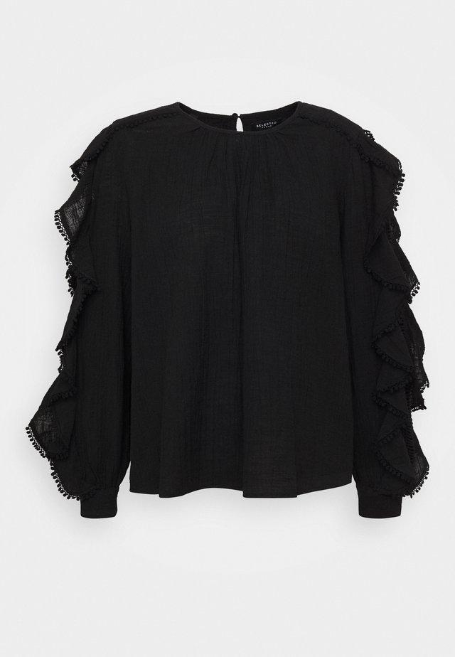 SLFJENNY - Bluse - black