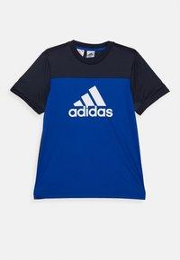 adidas Performance - TEE - Triko spotiskem - royal blue/legend ink/white - 0