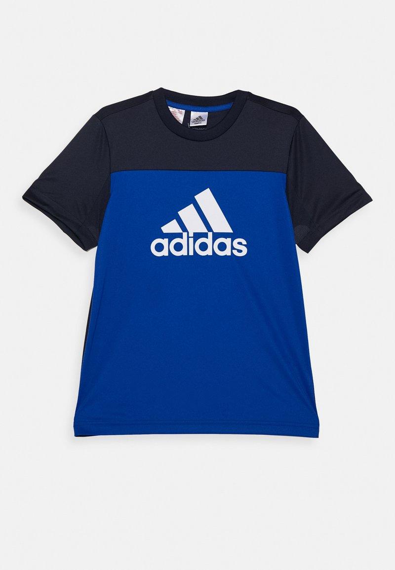 adidas Performance - TEE - Camiseta estampada - royal blue/legend ink/white