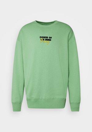 MINDS POWER UNISEX  - Sweatshirt - vintage green