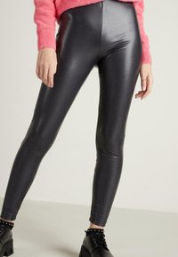 Tezenis - Leggings - Trousers - schwarz  - grey/black - 1