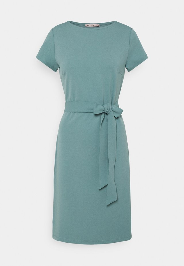 Jersey dress - blue grey