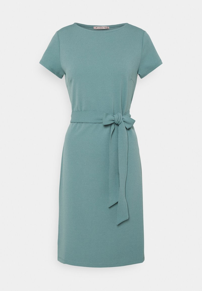 Anna Field - Jersey dress - blue grey