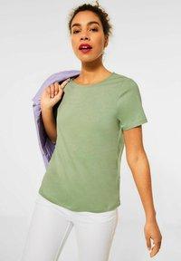 Street One - Basic T-shirt - grün - 0