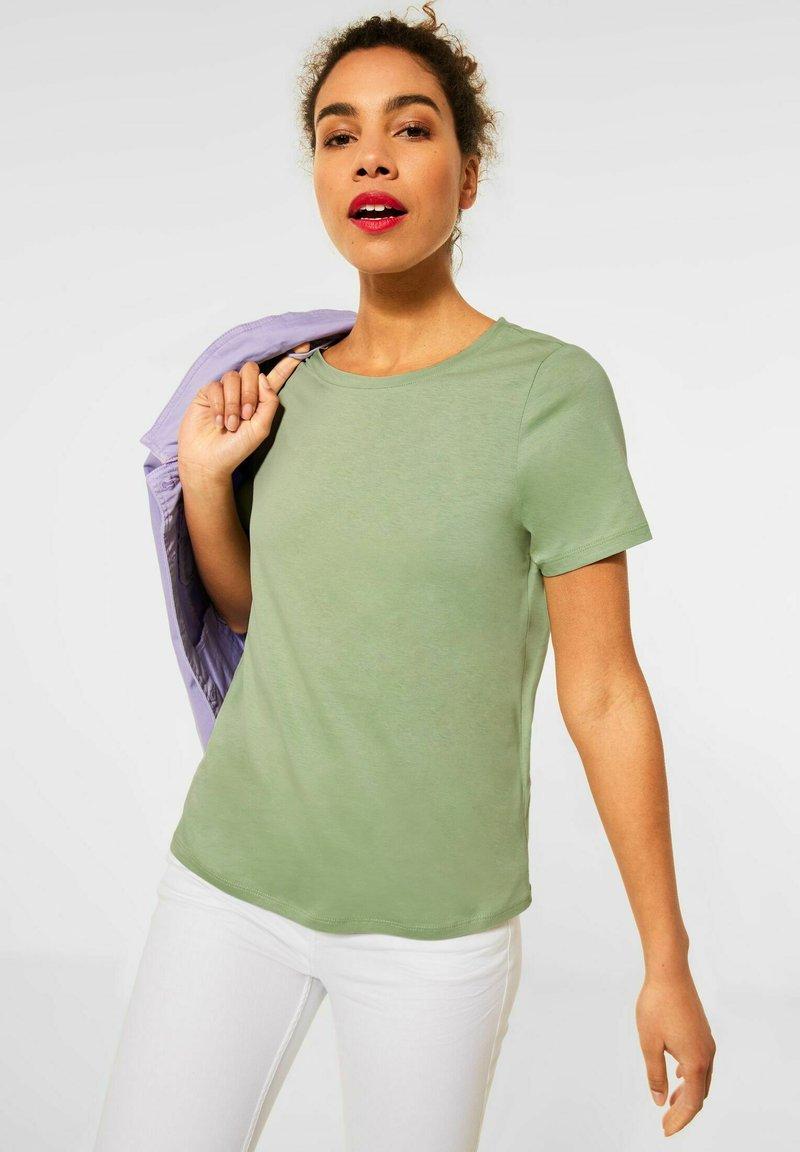 Street One - Basic T-shirt - grün